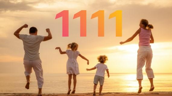 настройка на энергию числа 1111