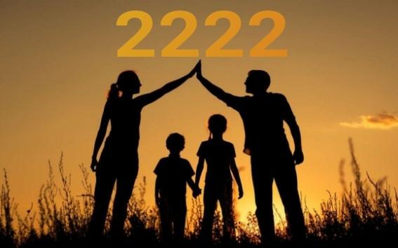 настройка на энергию числа 2222