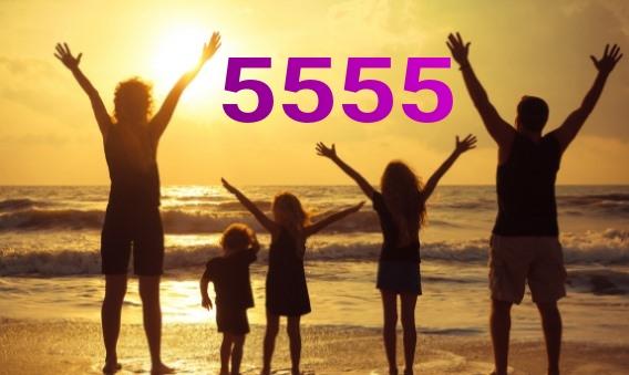 настройка на энергию числа 5555
