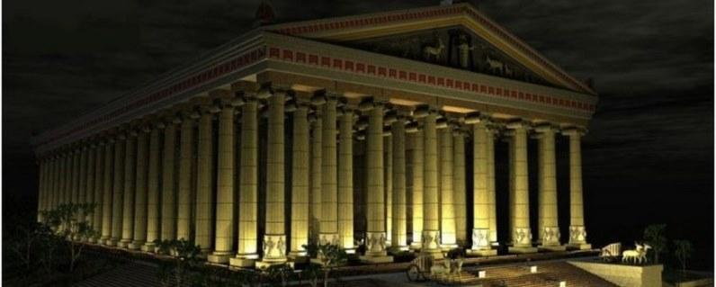 Чудеса Света Храм Богини Артемиды